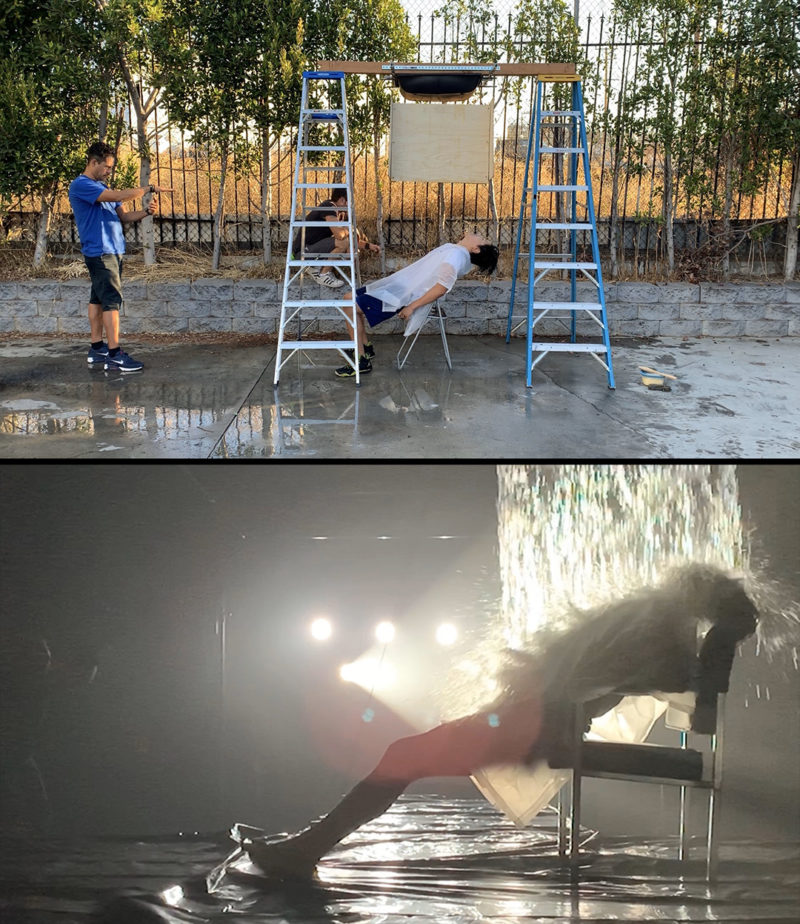 Flashdance BTS